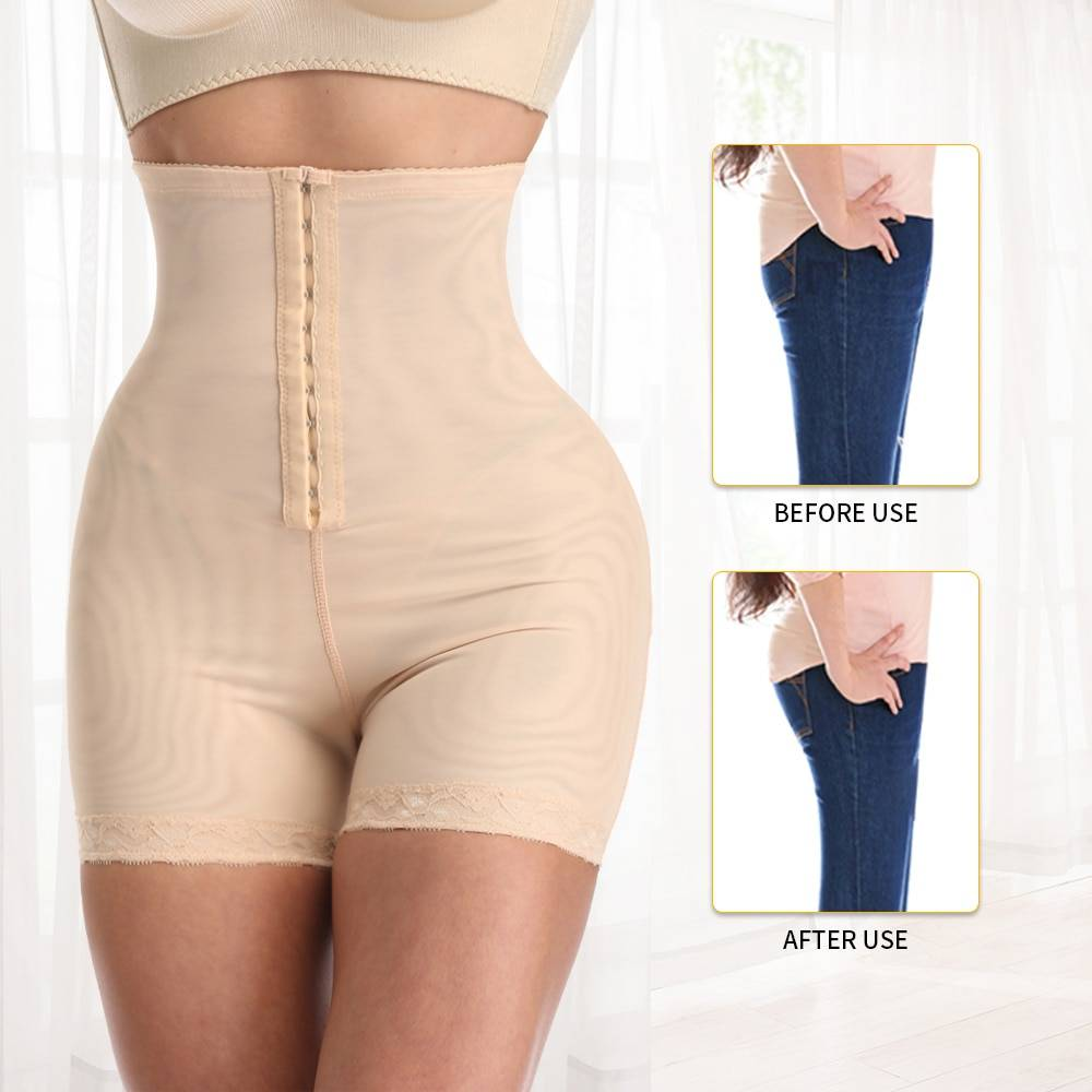 New Shapewear For Women Waist Trainer Corset Butt Lifter Tummy Control Booty Lift Pulling Underwear Shaper Plus Size S-6XL