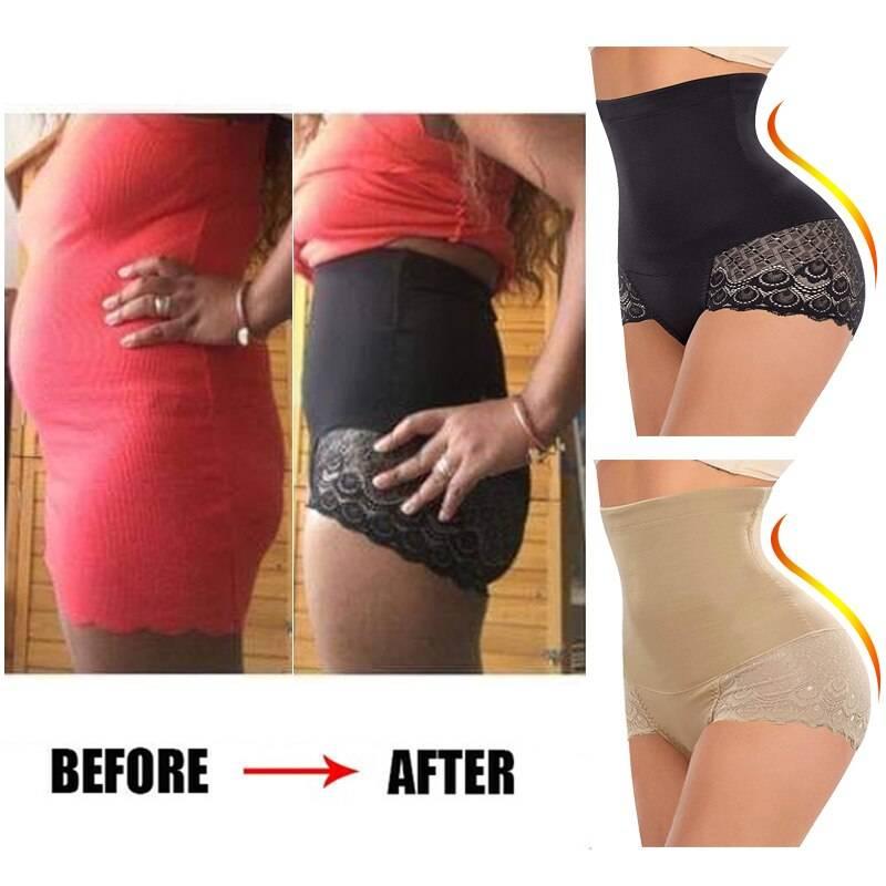 Women Lingerie waist trainer body shaper Slimming Panties butt lifter Shapewear Slimming Underwear tummy control Girdle belt