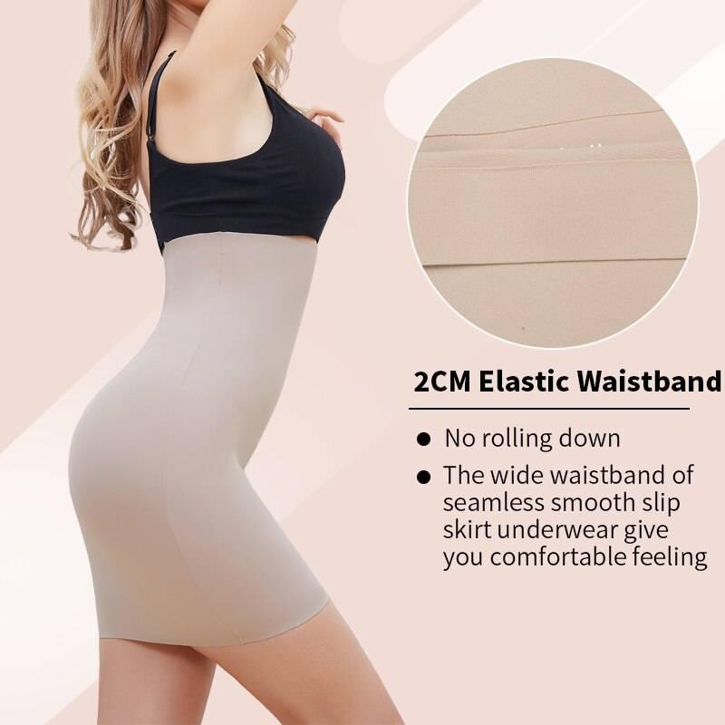 Wholesale Super Elastic Control Slips Women Slimming Underwear High Waist Body Shaper Tummy Control Panties Slip Modeling Corset