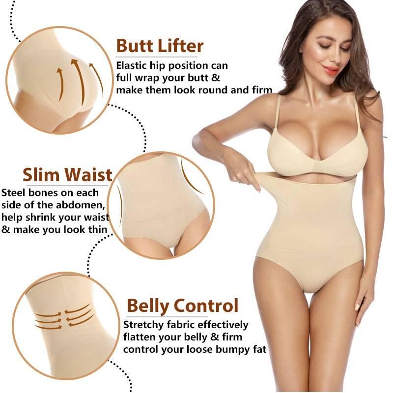 Magic Body Shapewear Women High Waist Slimming Control Panties Briefs Lady Corset Underwear Waist Trainer Butt lifter Panties