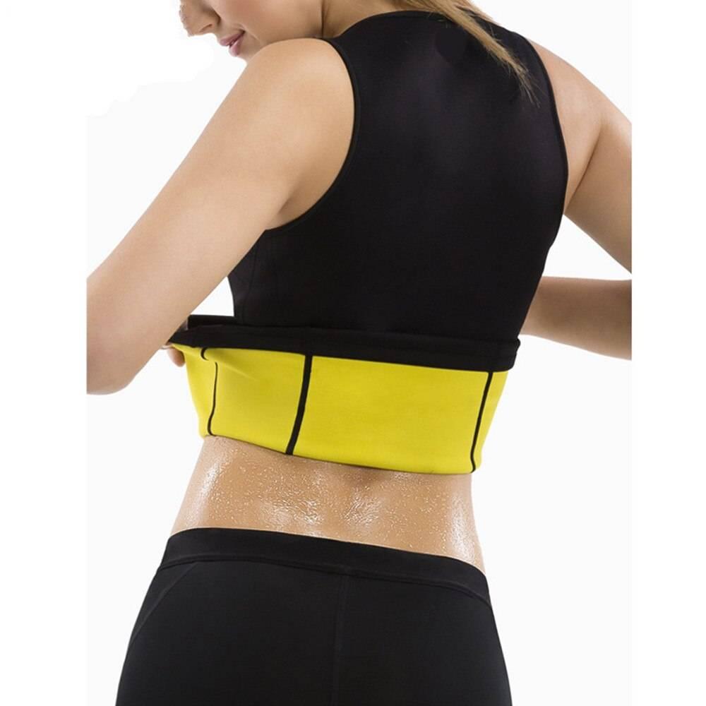 WAIST SECRET Women Waist Trainer Neoprene Sweat Sauna Body Shapers Vest Cellulite Reducing Vest Neoprene Slimming Shapers Corset