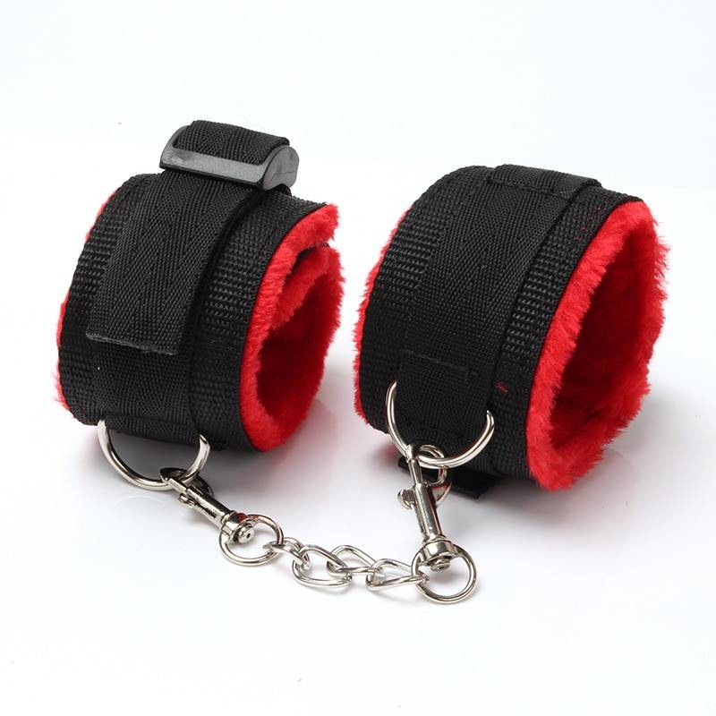 SMLOVE Handcuffs For Sex Collar Whip Gag Nipple Clamps BDSM Bondage Rope Erotic Adult Sex Toys For Woman Couples Anal Butt
