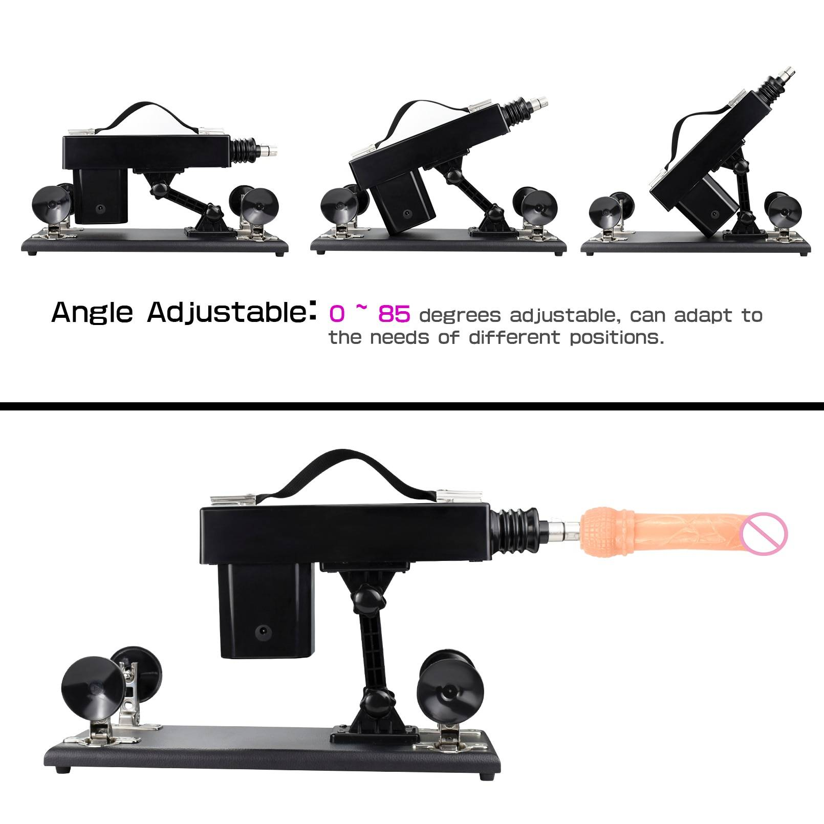 US Warehouse Sex Machines For Women Adult Sex Toy Self-Pleasure  Thrusting Machines Massage Machines with Dildo Kit and Anal Gi